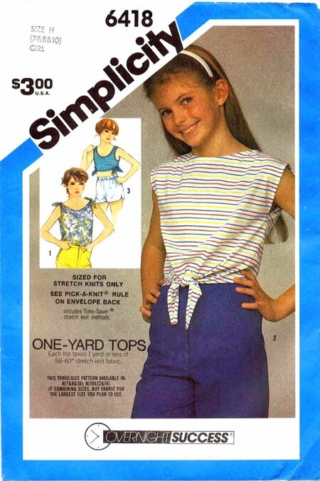 Simplicity 1984 6418