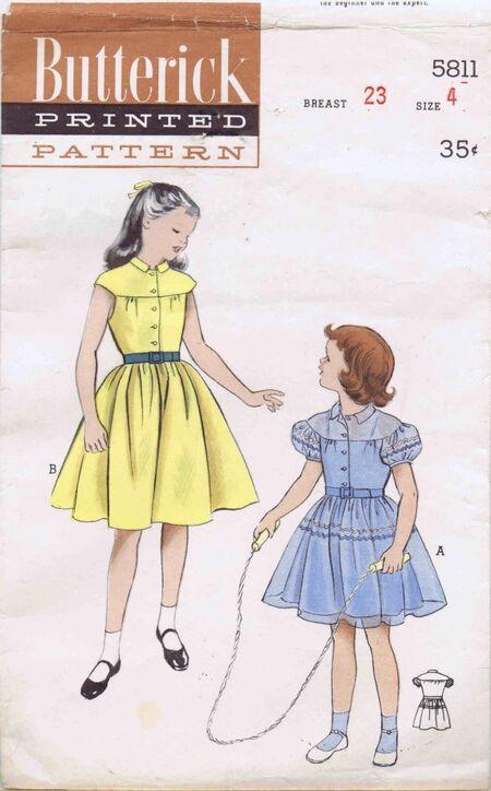 Butterick 1951 5811