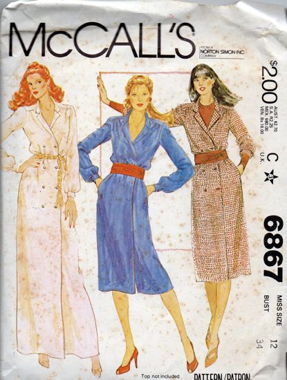 McCall's 6867
