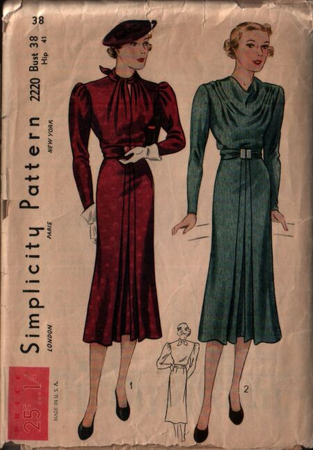 Simplicity 2220 front