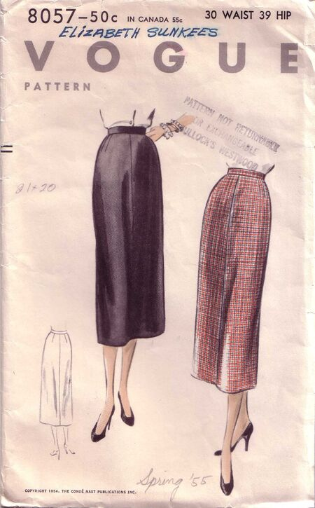 Vogue 8057