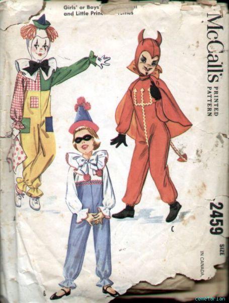 McCalls 2459 Costume