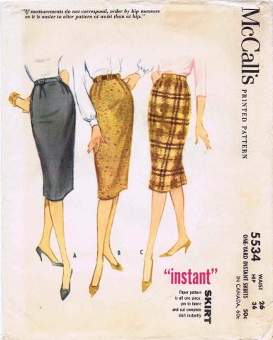 McCalls 1960 5534