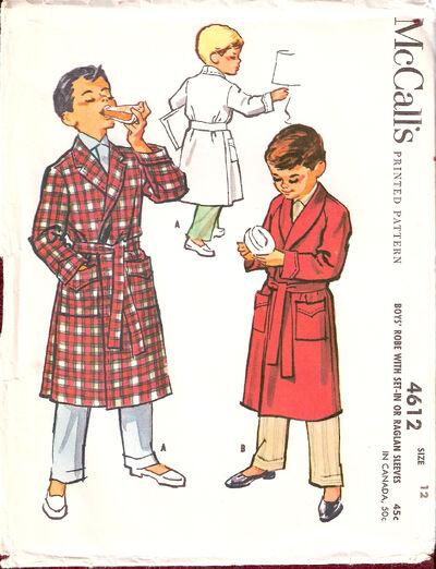 Mccalls-boys-robe-with-set-