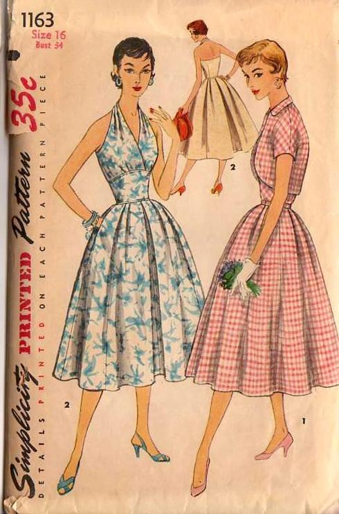 Simplicity 1163 | Vintage Sewing Patterns | FANDOM powered by Wikia