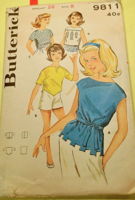 Butterick 9811 image