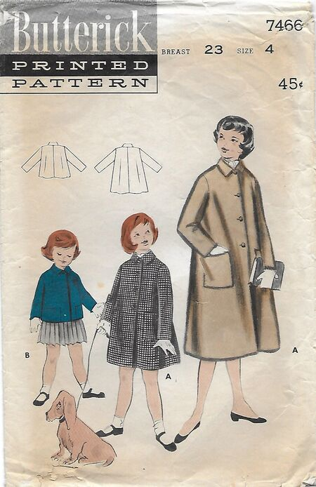 Butterick 7466 front A
