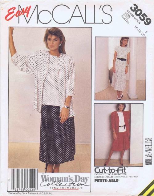 McCalls 1987 3059