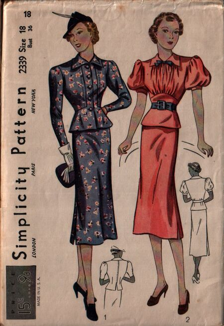 Simplicity 2339 front