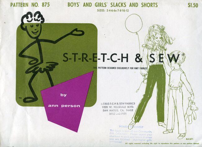 Stretch&sew875slacksshorts