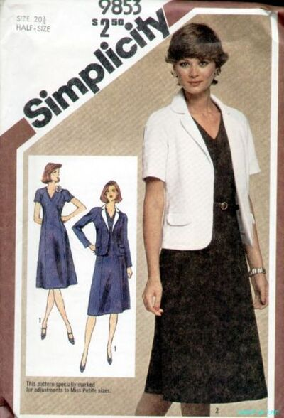 Simplicity 9853 80