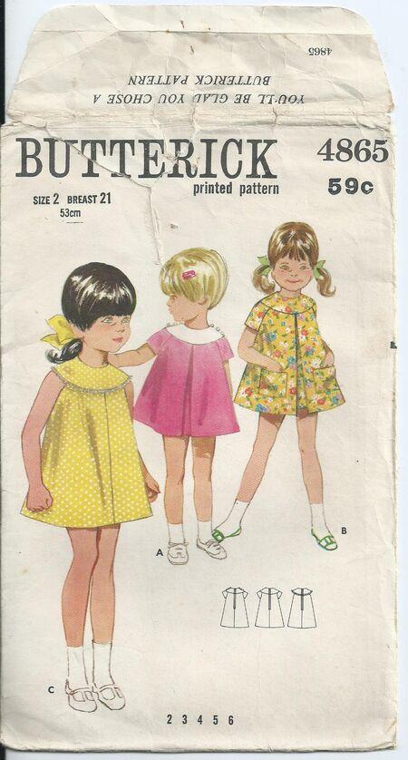 Butterick 4865