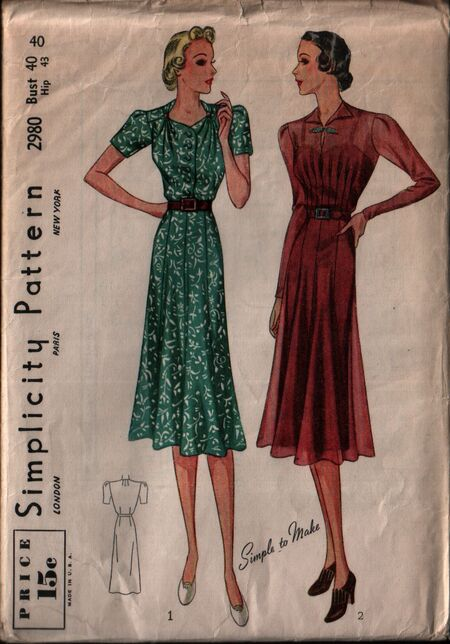 Simplicity 2980 front