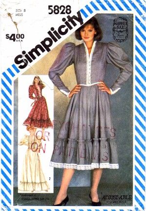 Simplicity 1982 5828