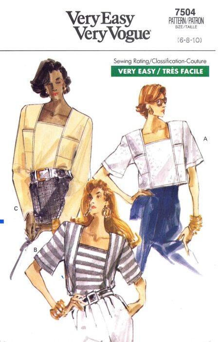 Vogue 1989 7504