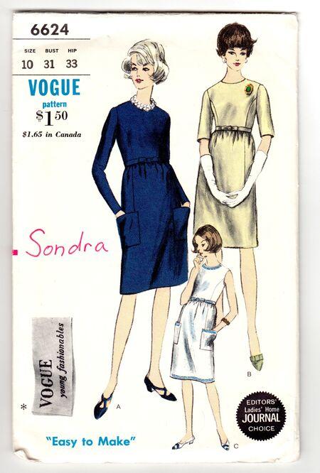 Vogue 6624