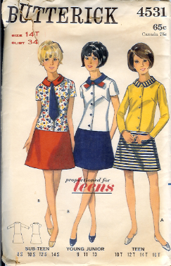 4531B 1960s Dress