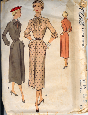 8114M 1950 Dress
