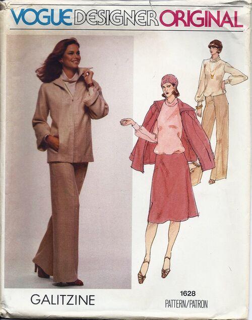 Vogue 1628 1970s 1