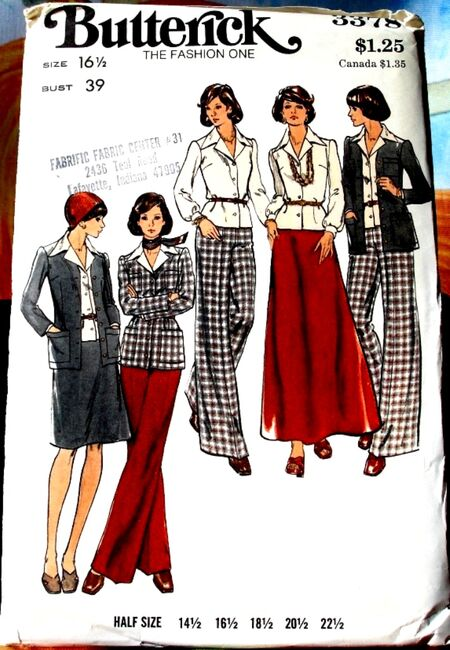 Butterick 3378 image