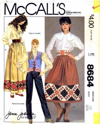 McCalls 1983 8684