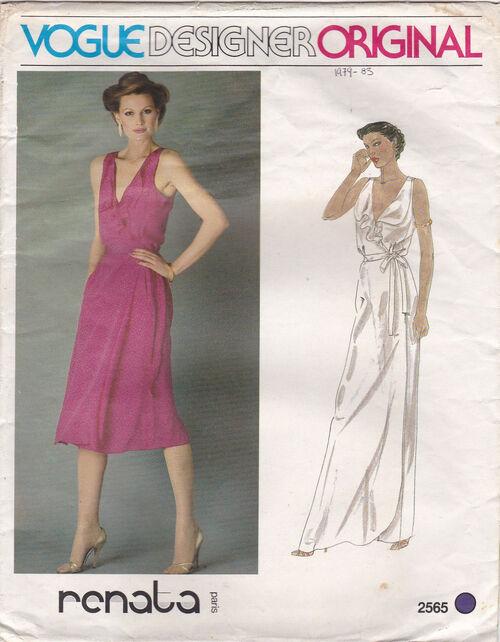 Pattern - Vogue 2565 02