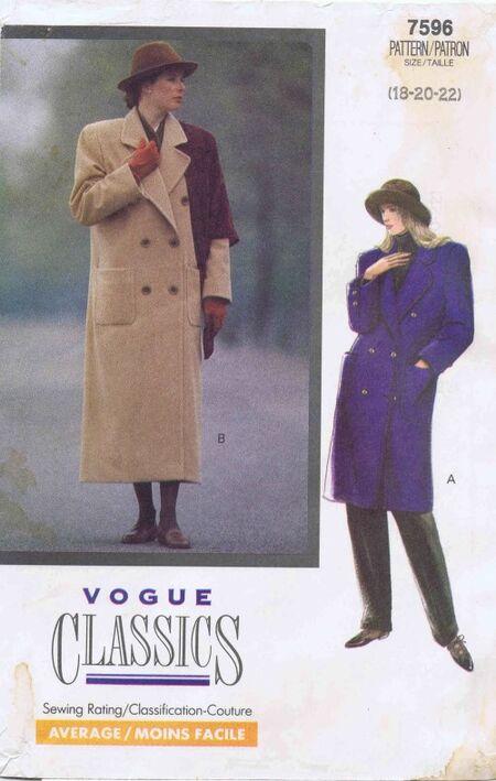 Vogue 1989 7596