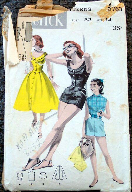 Vintage Patterns 133