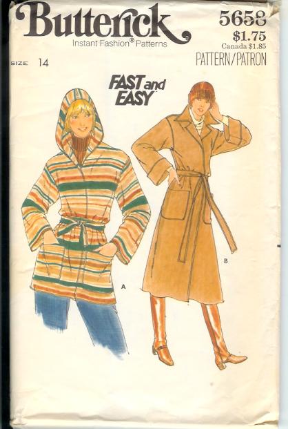 5658b 1970s Coat