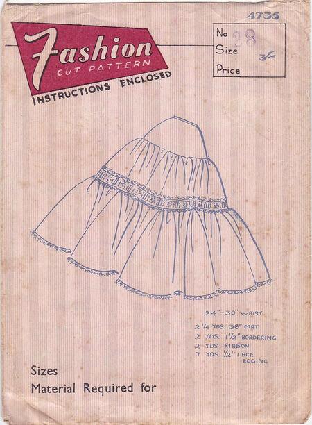 Pattern - Fashion Cut 2735 03