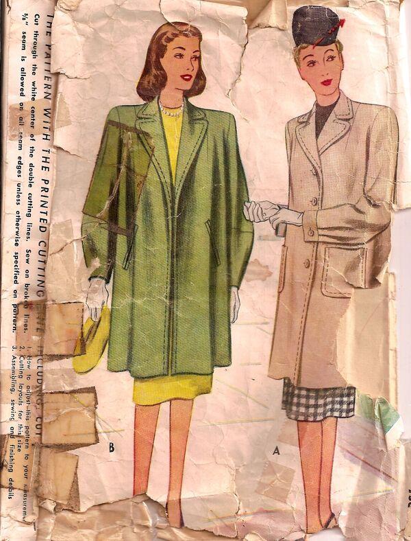 Simp8450 40s coat f