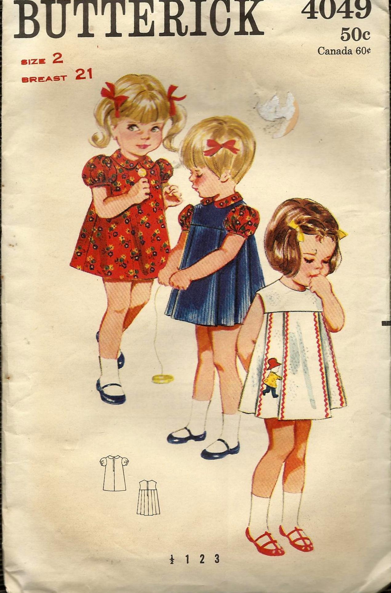 Butterick 4049 A Vintage Sewing Patterns Fandom