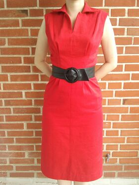 Butterick 7245 in cotton twill