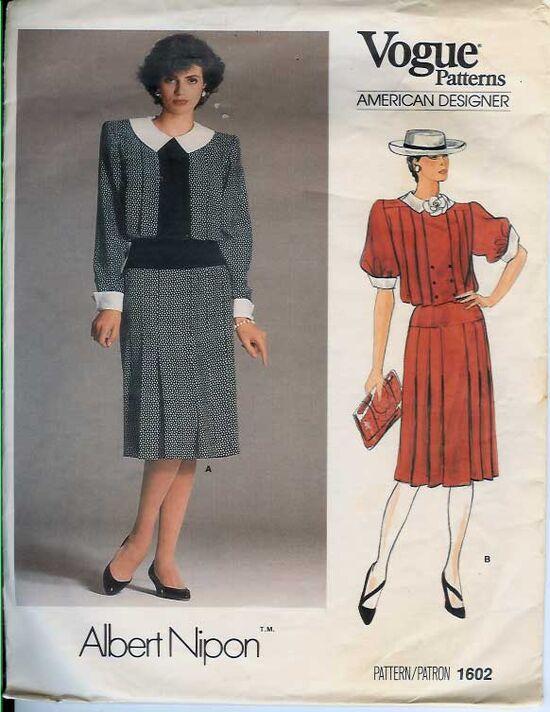 W-1602V 1985 ANipon-Dress