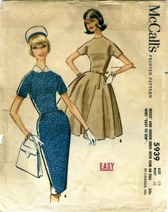 McCalls 1961 5939