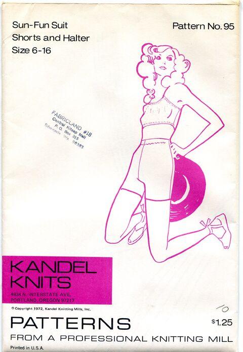 Kandel Knits 95 Sewing Pattern at Designrewindfashions on Etsy Design Rewind Fashions on Etsy a