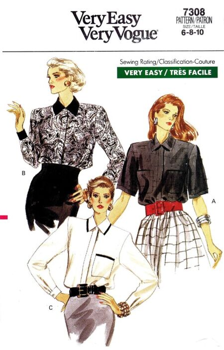 Vogue 1988 7308