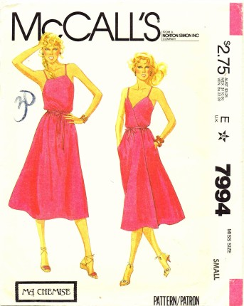 McCalls 1982 7994