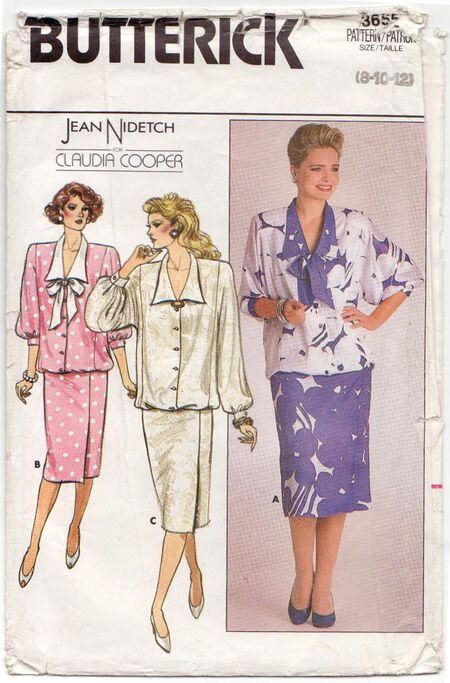 Butterick 3655 - Front
