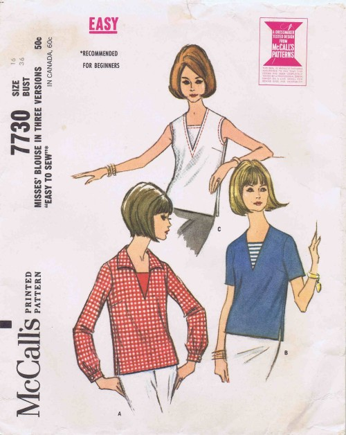 McCalls 1965 7730