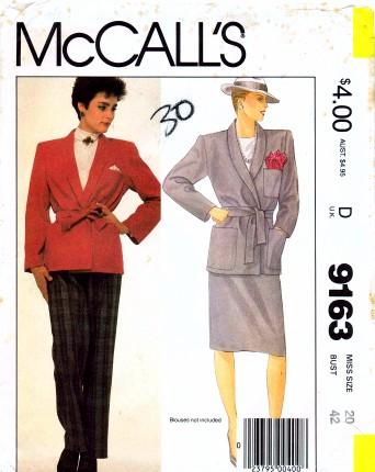 McCalls 1984 9163