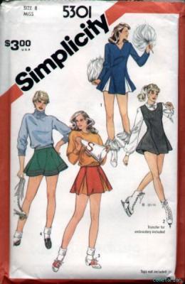 Simplicity 5301 80s