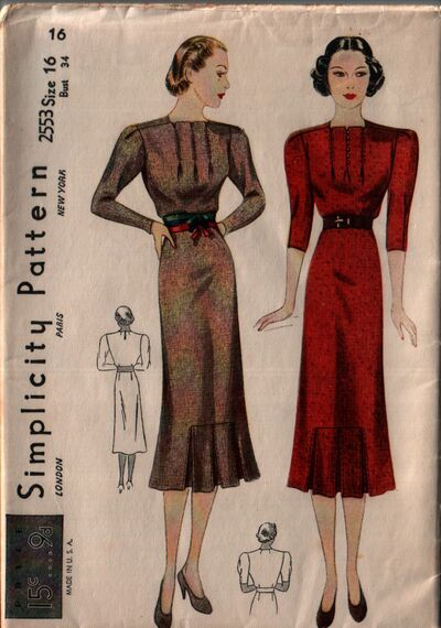 Simplicity 2553 front