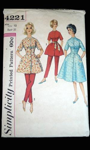 Vop-1368-01-vintage-1950s-hostess-outfit-pattern-Simplicity-4221