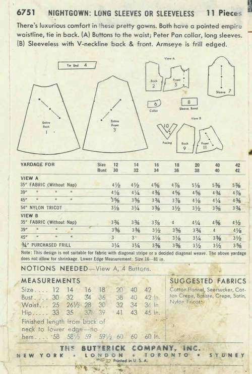 Butterick 6751back
