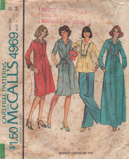 McCalls 4969 1 2
