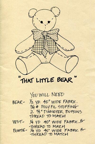 Thatlittlebear