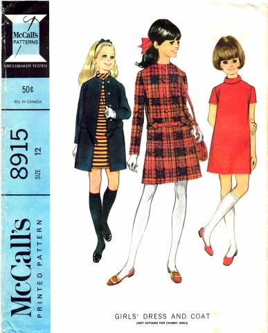 McCalls 1967 8915