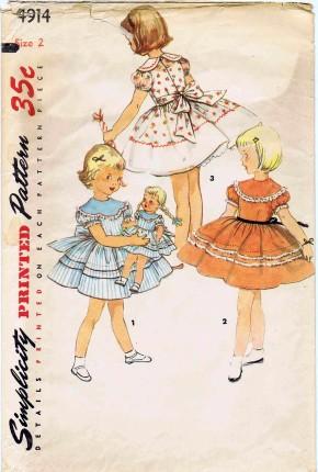 Simplicity 1954 4914