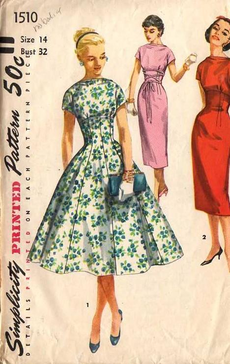 Simplicity 1510 Vintage Sewing Patterns Fandom Powered